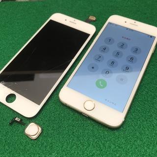 国立市からのお客様 iPhone6(アイフォン6)ガラス割れ&ホームボタン修理