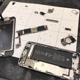 日野市からのお客様 iPhone6S(アイフォン6S)トイレへの水没修理