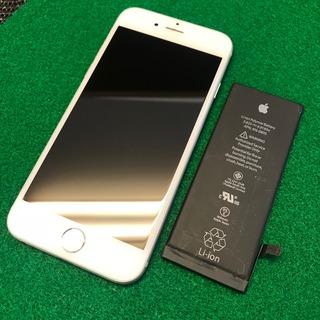 昭島市からのお客様 iPhone6(アイフォン6)バッテリー交換のついでにガラスコーティング