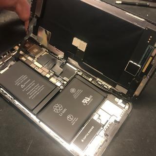 武蔵村山市からのお客様 iPhoneX(アイフォンX)ガラス割れ修理