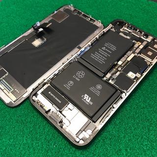 あきる野市からのお客様 iPhoneX(アイフォンX)ガラス割れ・液晶不良修理