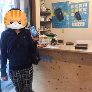 立川市からのお客様 iPhone8Plus(アイフォン8プラス)ガラス割れ修理