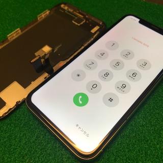 府中市からのお客様 iPhoneX(アイフォンX)簡易水没によるタッチ不良