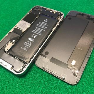日野市からのお客様 iPhone4・iPhone4S(アイフォン4.アイフォン4S)まだまだ現役?バッテリー交換