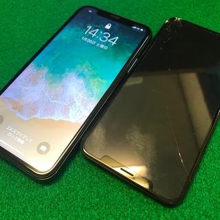 日野市からのお客様 iPhoneX(アイフォンX)ガラス割れによるタッチ不良
