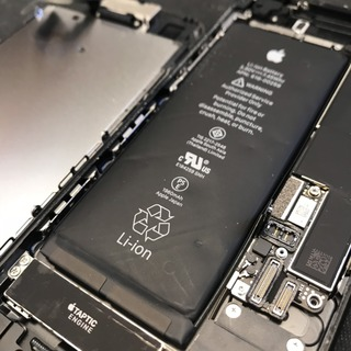 小平市からのお客様 iPhone7(アイフォン7)バッテリー膨張