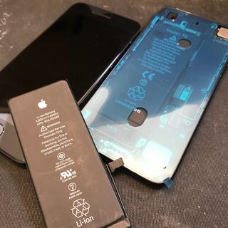 東大和市からのお客様 iPhone7(アイフォン7)画面交換とバッテリー交換