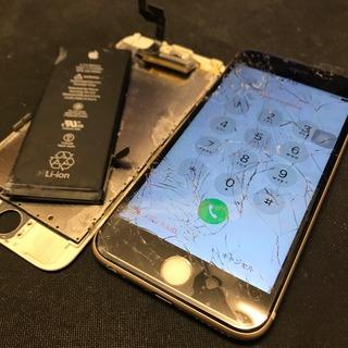 立川市からのお客様 iPhone6S(アイフォン6S)海外旅行中に海水に水没。帰国後に修理依頼。
