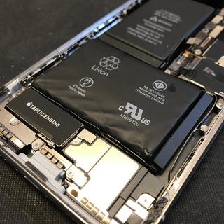 日野市からのお客様 iPhoneX(アイフォンX)のバッテリー膨張による電池交換