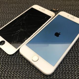 日野市からのお客様 iPhone6S(アイフォン6S)画面割れ液晶不良修理からのガラスコーティング