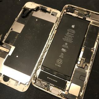 府中市からのお客様 iPhone8Plus(アイフォン8プラス)の液晶不良修理(他社修理歴あり)