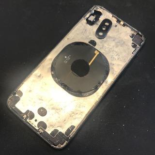 立川市からのお客様 iPhoneX(アイフォンX)の背面ガラス交換修理