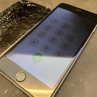 東大和市からのお客様 iPhone6Plus(アイフォン6プラス)基板も損傷してしまった画面交換修理