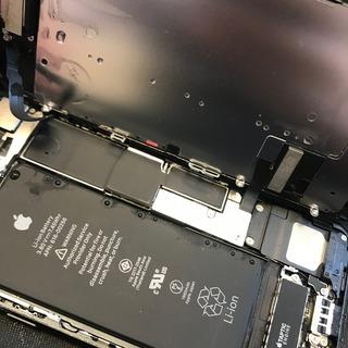 日野市からのお客様 iPhone7(アイフォン7)の突然の雨で水没してしまった修理