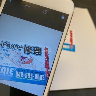 日野市からのお客様 iPhone6S(アイフォン6S)リアカメラがピンボケするのでカメラ交換