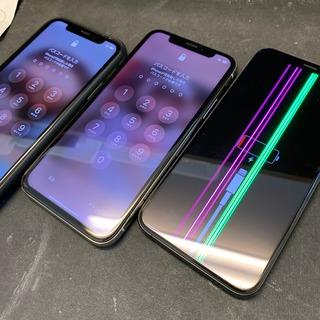 立川市などからのお客様 iPhoneXやXS(アイフォンXやXS)最近多いフロントパネル交換修理