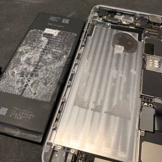 東久留米市からのお客様 iPhone6Plus(アイフォン6プラス)バッテリー交換修理(他店修理歴あり)