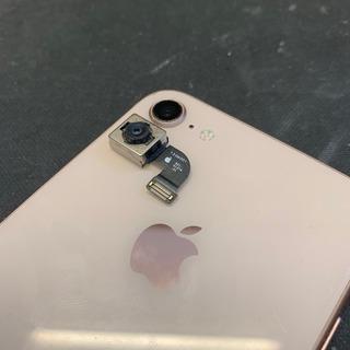 国分寺市からのお客様 iPhone8(アイフォン8)リアカメラ&レンズ交換修理