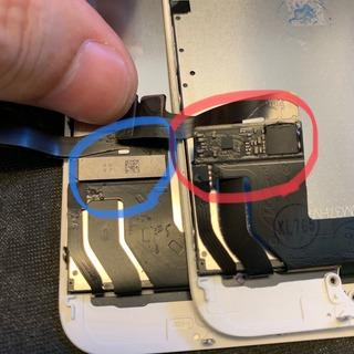 小平市からのお客様 iPhone7(アイフォン7)ガラス割れ交換修理(他店修理歴あり)