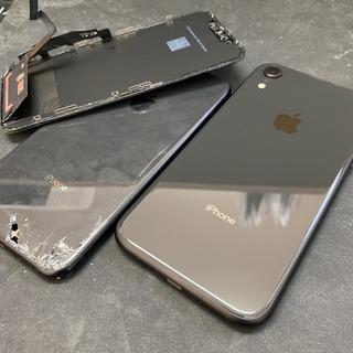 多摩市からのお客様 iPhoneXR(アイフォンXR)液晶・背面フレーム交換修理(リファビッシュ)