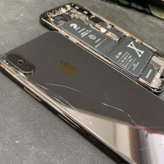 茨城県からのお客様 iPhoneX(アイフォン10)背面フレーム交換修理