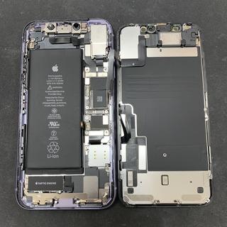 日野市からのお客様 iPhone11(アイフォン11)の背面ガラス割れ修理