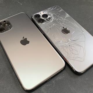 横浜市からのお客様 iPhone11Pro(アイフォン11プロ)のバックフレーム交換修理