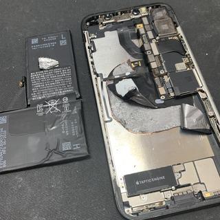 色々な修理店がありますが。。。 iPhoneX(アイフォンX)の修理編