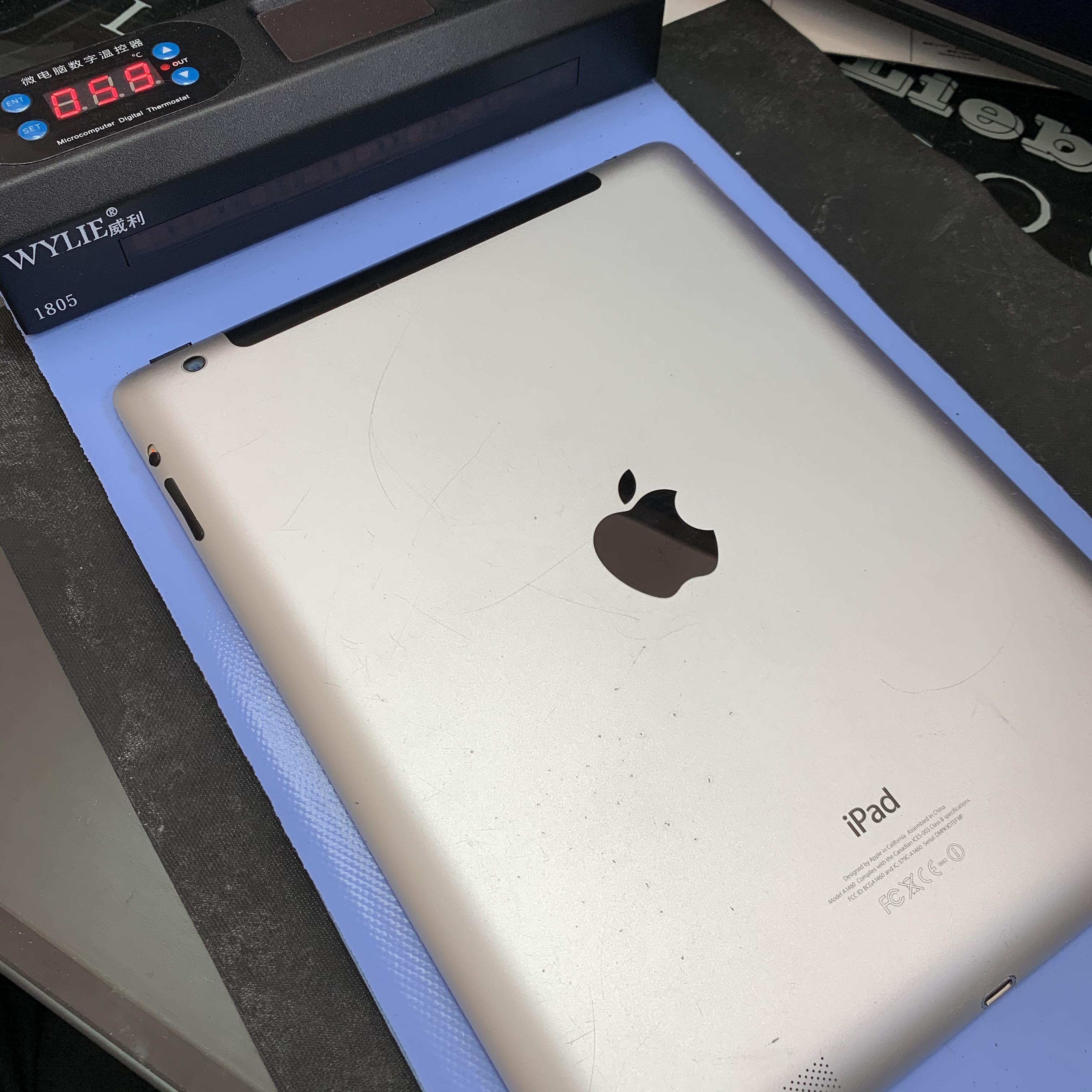 iPad4を温める