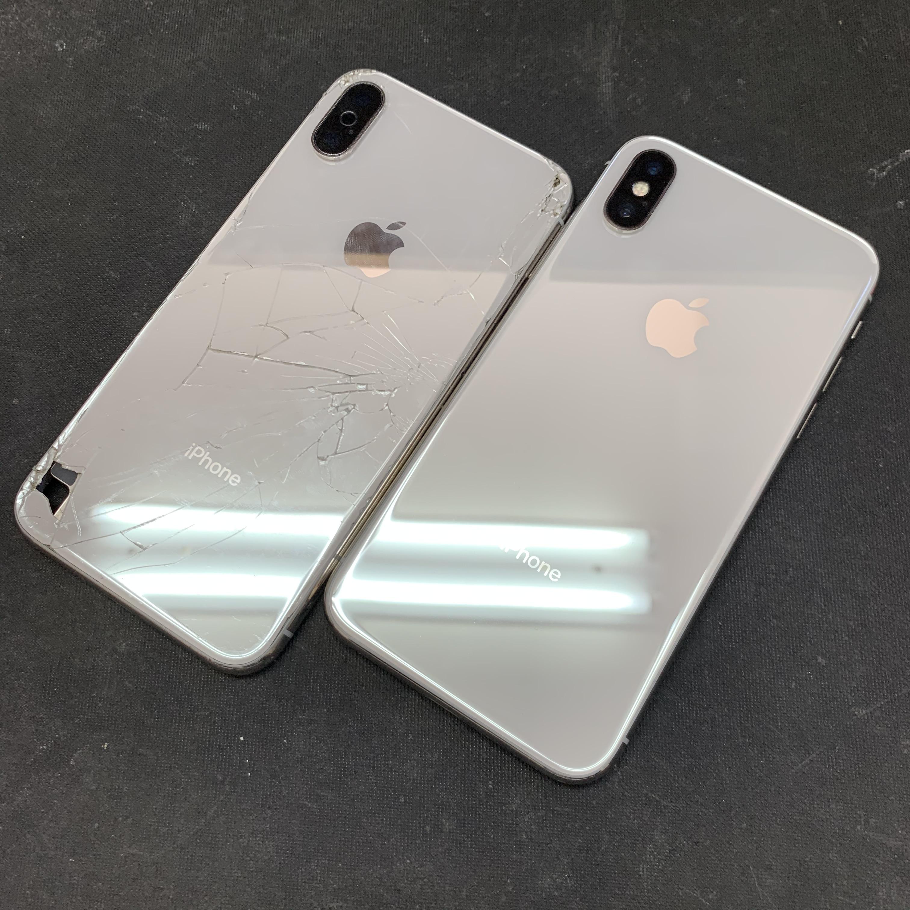 背面交換完了したiPhoneX