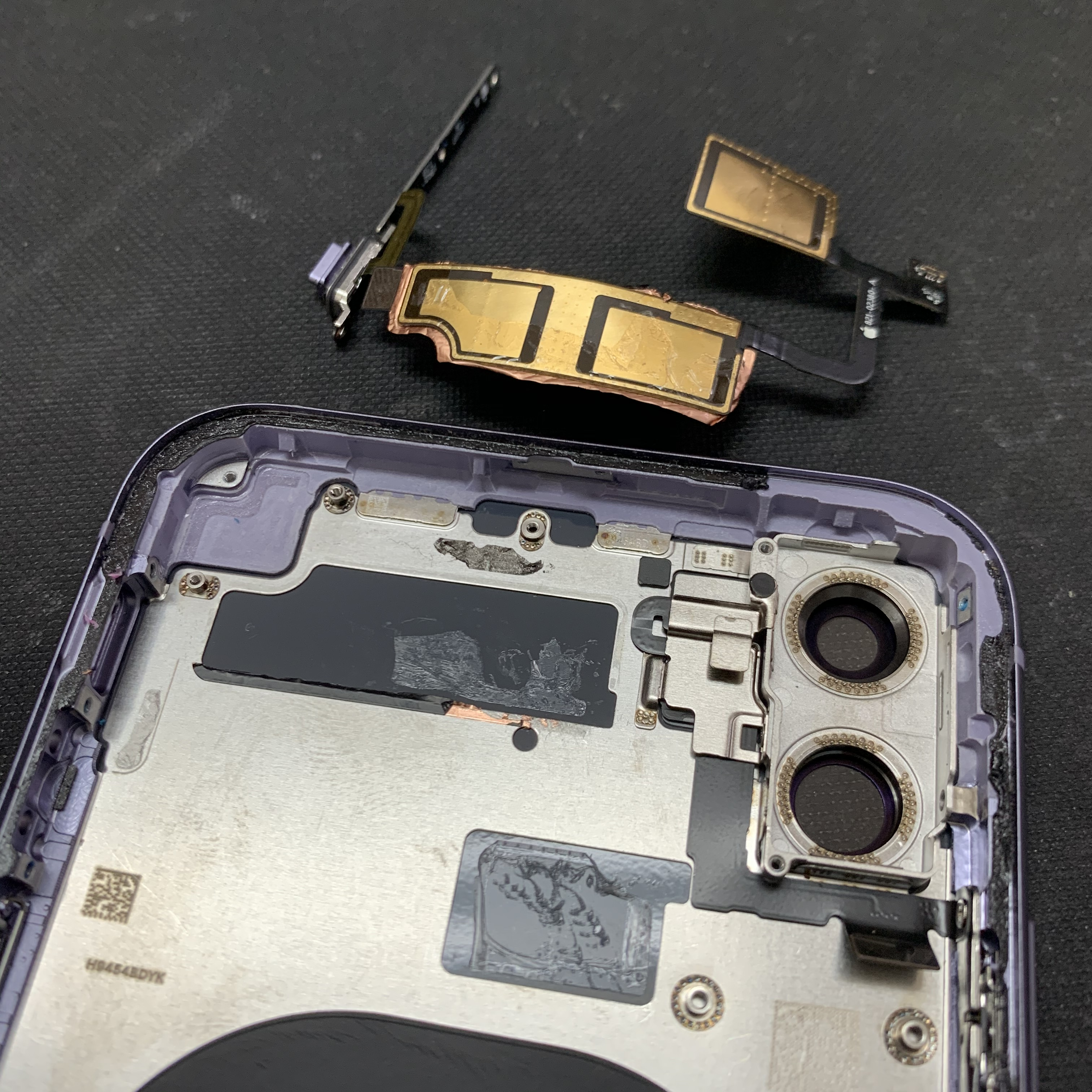 iPhone11タピオカレンズの裏側