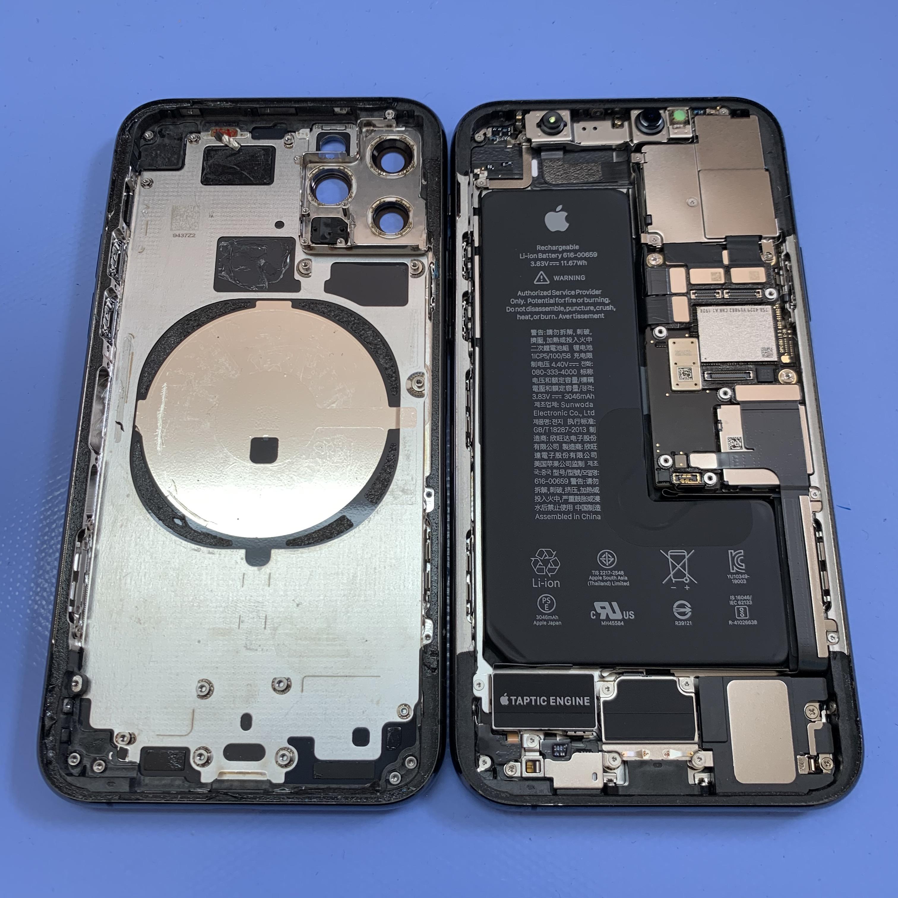 移植前のiPhone11Pro