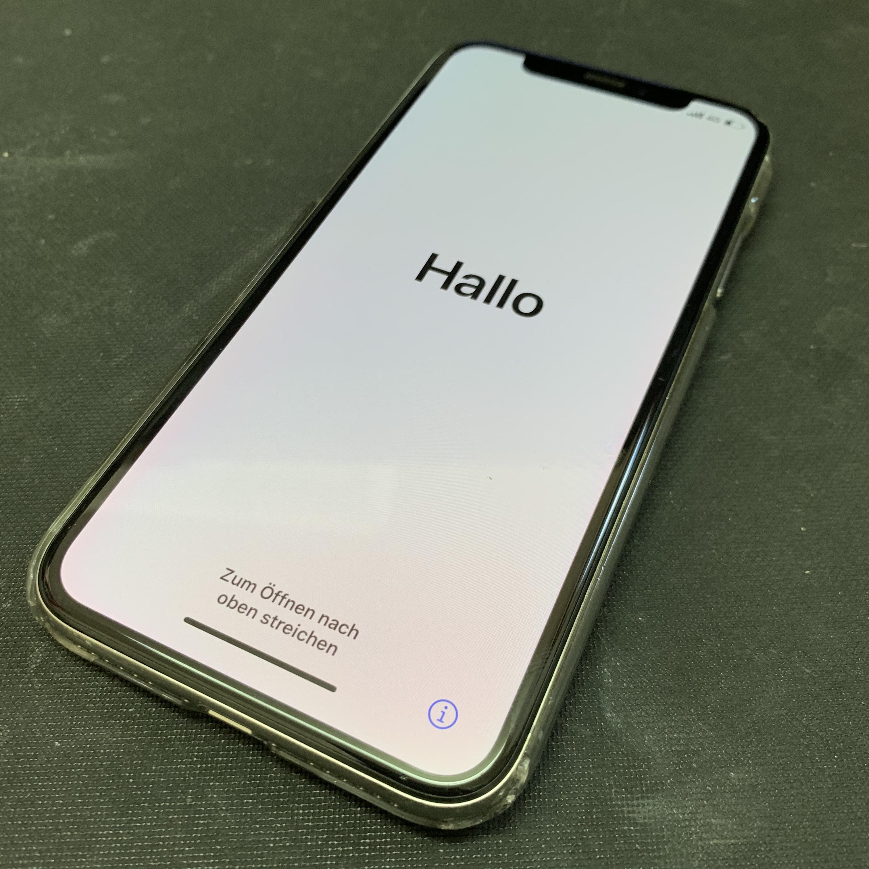 初期化されたiPhoneX